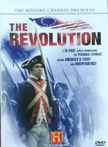 DVD History Channel 4 disc boxed set Revolution