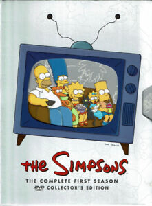 The Simpsons Complete First Season Collector's Edition (3-DVD Bo