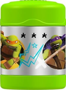 NEW: Teenage Turtles Thermos Funtainer 10 Ounce Food Jar