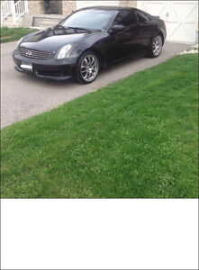 2007 Infiniti G35 6MT Coupe. $7900.  Certified & E-tested
