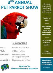 Edmonton Pet Parrot Show 2017