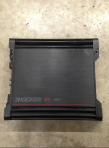 Kicker Amplifier and Wiring Kit