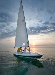 Laser Sailboat - Race Rigging - 4000 obo