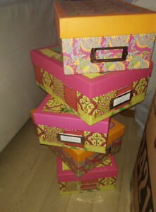 Over 30 decor boxes $ 2 each or discount for multiples