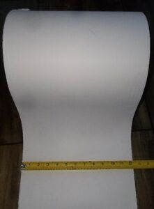 "LARGE ROLL OF BRIGHT WHITE PAPER 12"" WIDE"