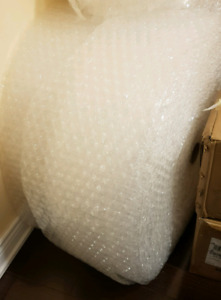 2 Big Bubble Wrap Rolls + Packing Paper