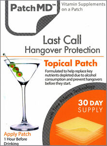 Help Hangovers!!!! Patch4That