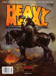 Heavy Metal magazine old issues
