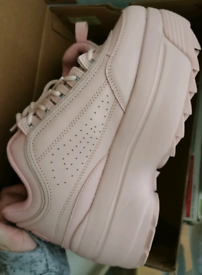 Size 6 Light Pink Fila Disruptors £100 ONO Cash&collect only