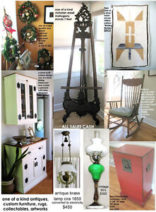 One of a Kind, Custom Made Victorian Country cabinet/hutch Kingston Kingston Area image 7