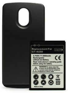 Extended battery for Samsung Google Galaxy Nexus Prime i9250