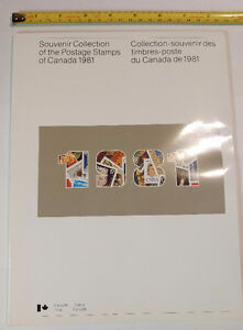 Collection Canada 1981 (timbres/stamps)