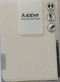 """SPECIAL OFFER Juppa N8000 Executive Tablet Case 10.1"""" White with Stylu"""