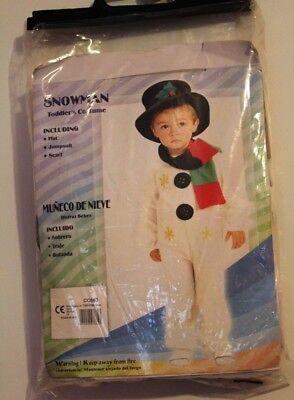 Schneemann 92-104 Snowman Frosty Weihnachten Karneval, Fasching ()