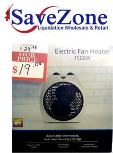 New- Mainstays Dual Function Heater and Fan
