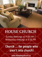 Church ... for people who aren't into church!