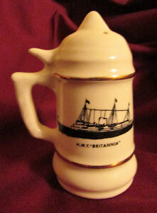 1959 St Lawrence Seaway Commemorative SALT & PEPPER Shakers Kitchener / Waterloo Kitchener Area image 3
