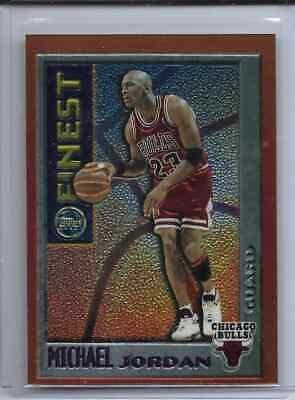Michael Jordan 1995-96 Topps Finest Mystery Border Orange #M1