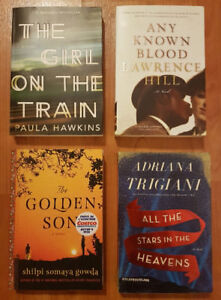 Latest Bestseller Novels in New/Excellent Conditions.