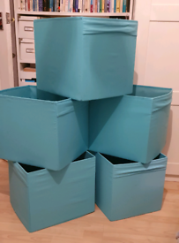 IKEA Drona Storage boxes Turquoise 14 available