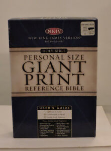 Giant Print  Holy Bible NKJV Used