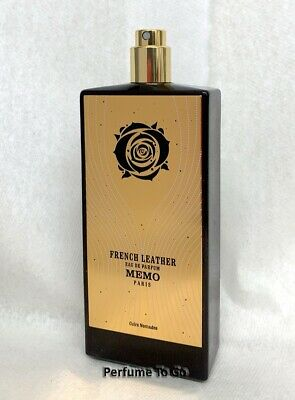 FRENCH LEATHER MEMO Paris * Cuirs Nomades * 2.5 oz (75ml) EDP Spray NEW TESTER