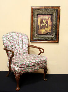 Superb Restored ACCENT / Parlour Chair  SEE VIDEO