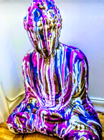 Psychedelic Buddha, Canadian Artist