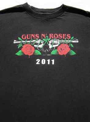 GUNS N' ROSES 2011 tour MEDIUM concert T-SHIRT