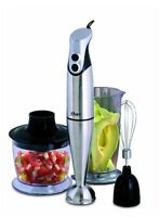Oster 3.7 Oster Hand Blender with Accessories, Stainless Steel