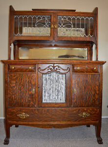 Antique Sideboard and Hutch