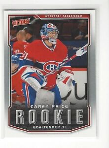 CAREY PRICE .... Upper Deck VICTORY ROOKIE CARD .... 2007-08