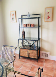 Kitchen or Solarium Table and Stand