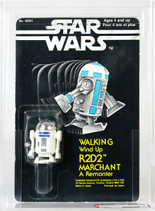 Star Wars Canada Wind-Up R2-D2 Action Figure 1978