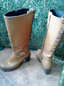 LEATHER SHOES AND BOOTS...cross posted...