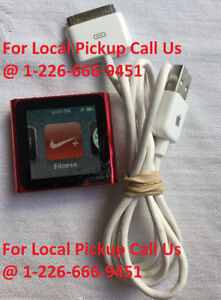 Apple iPod Nano Touch Screen Product Red - 6th Generation (8GB)