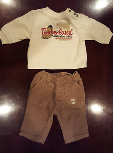 TIMBERLAND Brand Long Sleeve Shirt and Pants