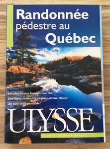 Livre Randonnée pédestre + Carte des voies cyclables de Montréal