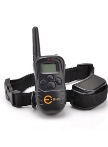 Esky bark collar with remote for sale