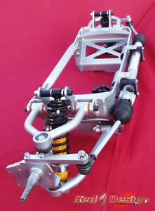 Type 1 VW custom double A arm and rack and pinion front end