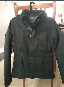 BURTON dark green SKI/snowboard jacket price reduced!