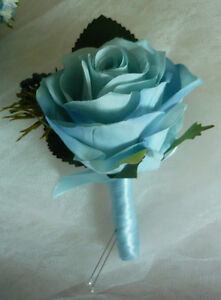 "Light Blue Is Back For 2017 ""Wedding Bouquet Flowers Set"" London Ontario image 4"
