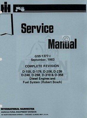 International 385 454 464 484 544 584 624 664 674 684 686 Engine Service Manual