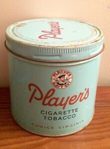 Antique Player's Tin