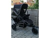 Hauck Freerider double tandem buggy pushchair