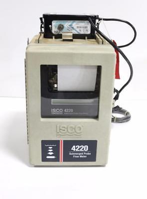 Isco 4220 Submerged Probe Flow Meter W Isco Model 913 High Capacity Power Pack