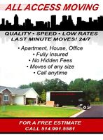 All Access Moving - Your West Island Movers
