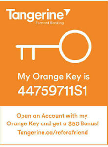 New Tangerine clients get $50-$150 free up to $3250■ learn how