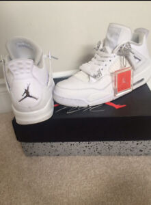 Jordan 4s - pure money size 10