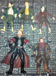LORD OF THE RINGS/ BATMAN ACTION FIGURES!!!!